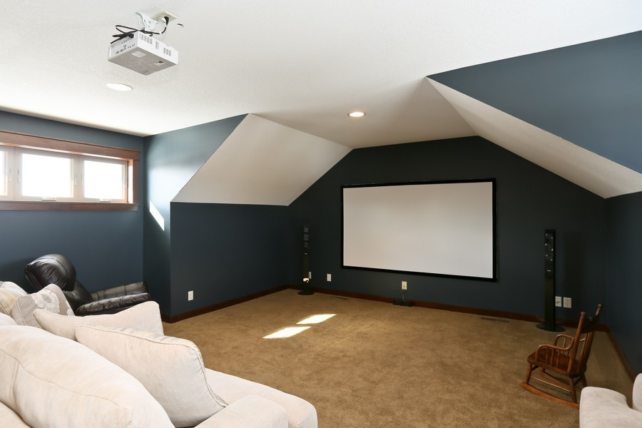 Real Estate Photography - 1050 LaBarge Road, Hudson, WI, 54016 - Entertainment Room