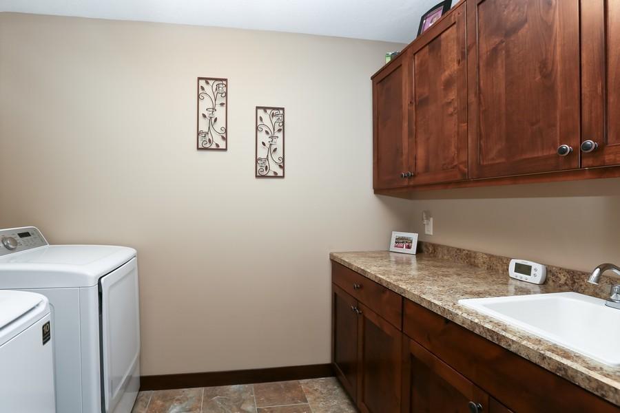 Real Estate Photography - 1050 LaBarge Road, Hudson, WI, 54016 - Garage