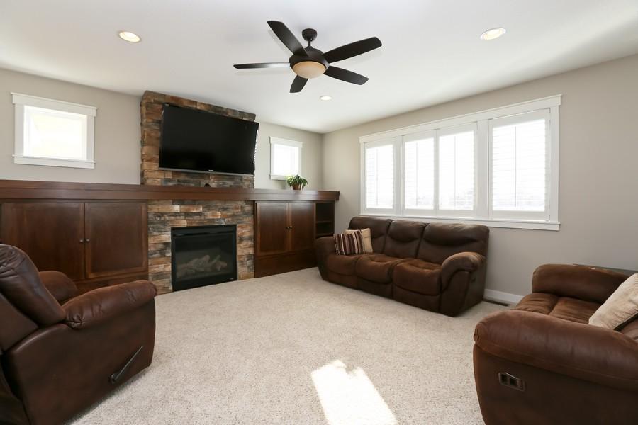 Real Estate Photography - 597 Grange Road, Hudson, WI, 54016 - Living Room