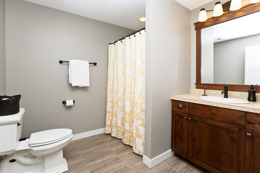 Real Estate Photography - 597 Grange Road, Hudson, WI, 54016 - 3rd Bathroom