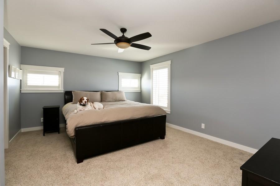 Real Estate Photography - 597 Grange Road, Hudson, WI, 54016 - Master Bedroom