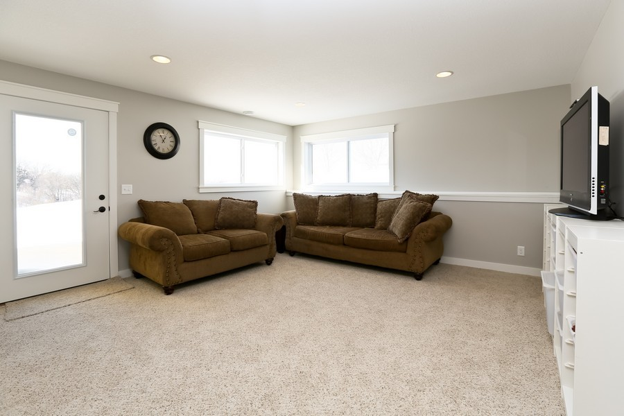 Real Estate Photography - 597 Grange Road, Hudson, WI, 54016 - Family Room