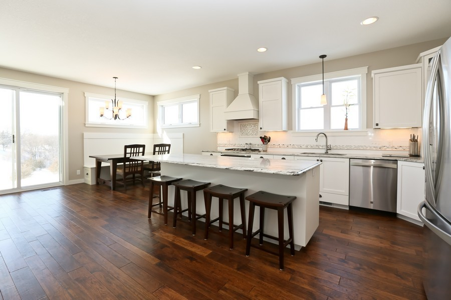 Real Estate Photography - 597 Grange Road, Hudson, WI, 54016 - Kitchen