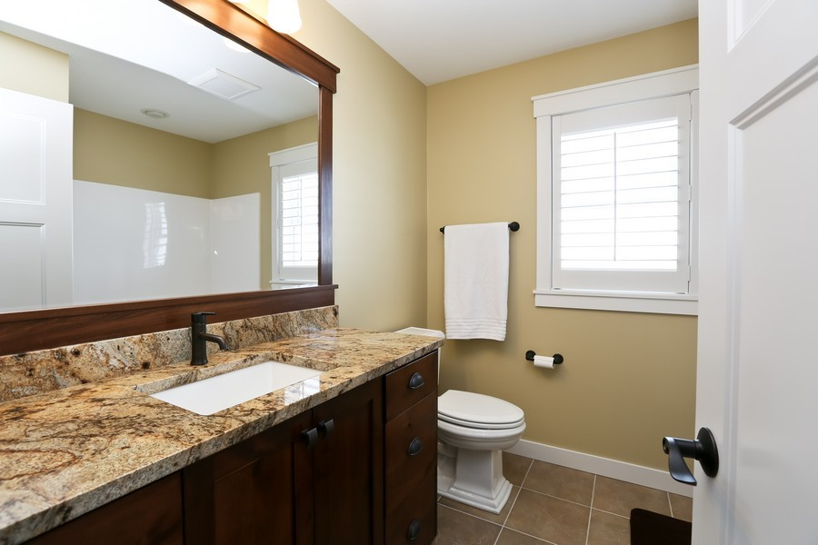 Real Estate Photography - 597 Grange Road, Hudson, WI, 54016 - Bathroom
