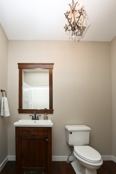 Real Estate Photography - 597 Grange Road, Hudson, WI, 54016 - 2nd Bathroom