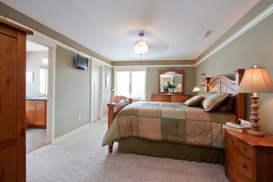 Real Estate Photography - 925 Sadies Lane, Hudson, WI, 54016 - Master Bedroom