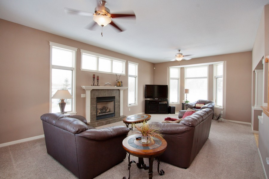 Real Estate Photography - 925 Sadies Lane, Hudson, WI, 54016 - Living Room