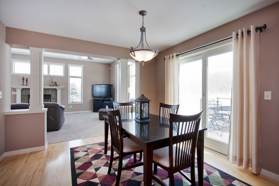 Real Estate Photography - 925 Sadies Lane, Hudson, WI, 54016 - Dining Room