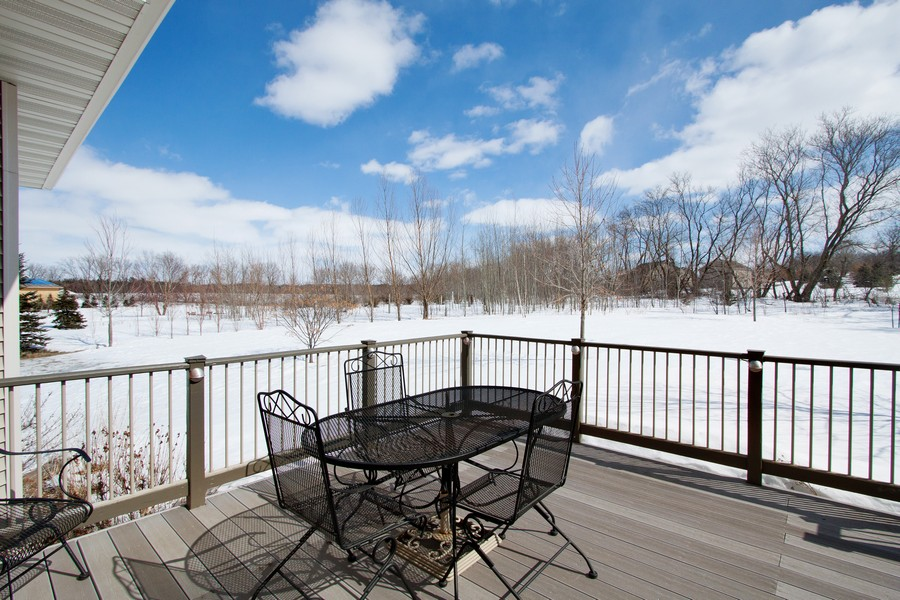 Real Estate Photography - 925 Sadies Lane, Hudson, WI, 54016 - Deck
