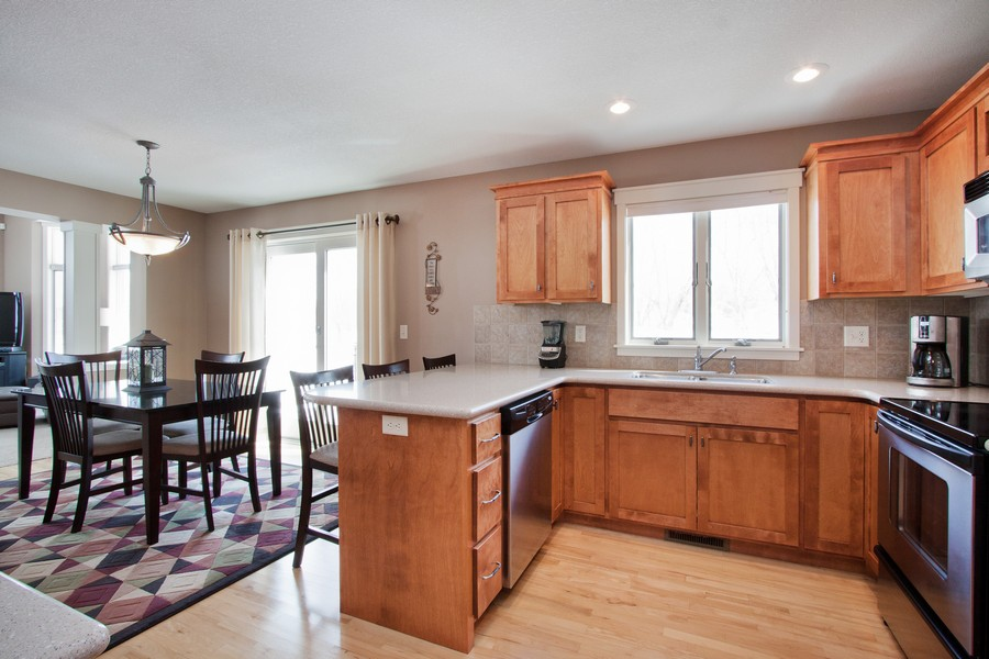 Real Estate Photography - 925 Sadies Lane, Hudson, WI, 54016 - Kitchen / Dining Room