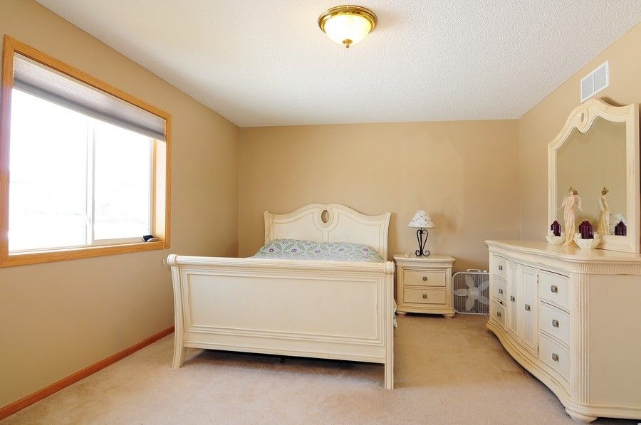 Real Estate Photography - 1415 4th Ave., Baldwin, WI, 54002 - Master Bedroom