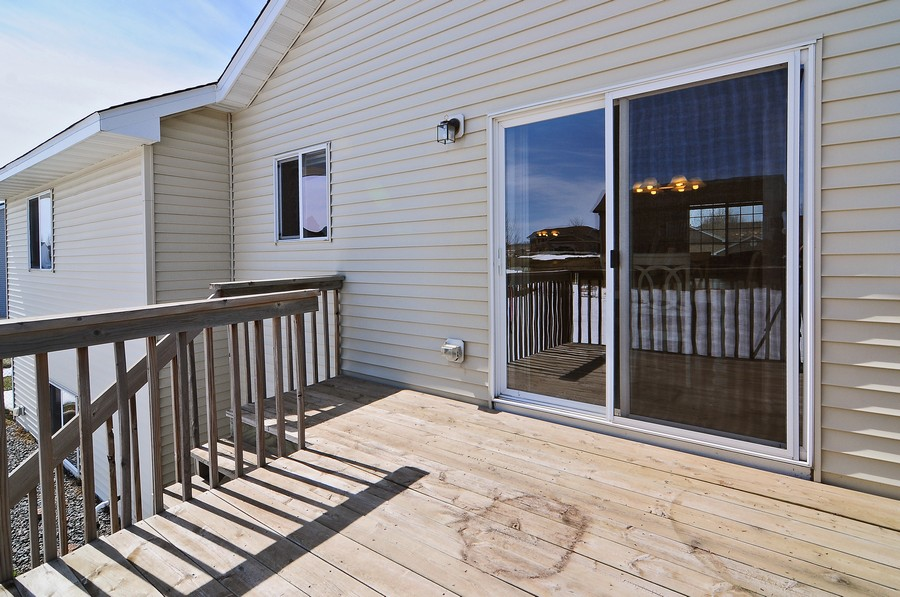 Real Estate Photography - 1415 4th Ave., Baldwin, WI, 54002 - Roof Deck