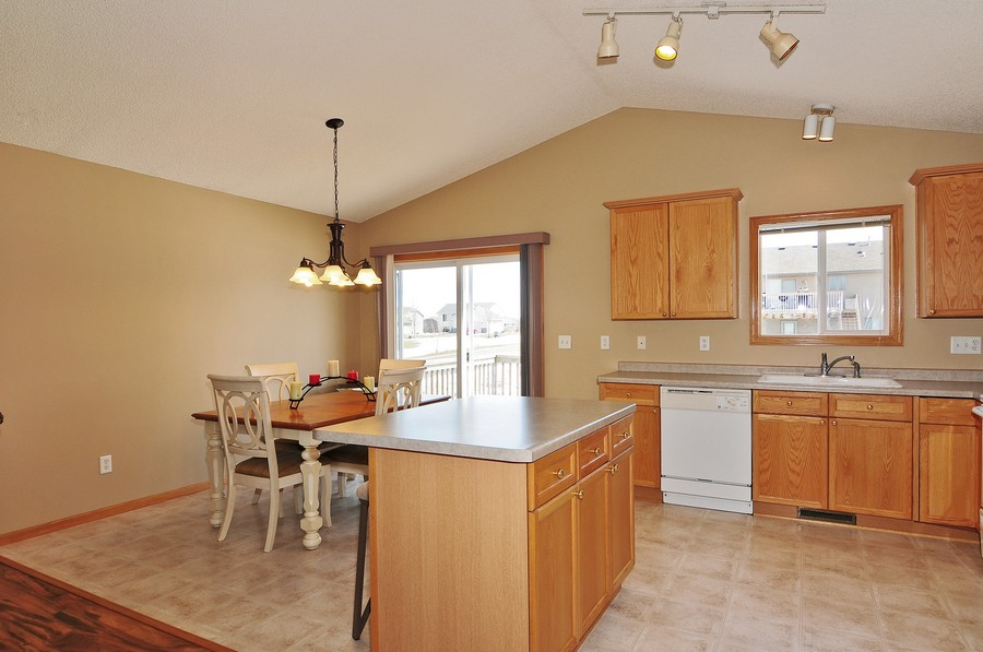 Real Estate Photography - 1415 4th Ave., Baldwin, WI, 54002 - Kitchen / Dining Room
