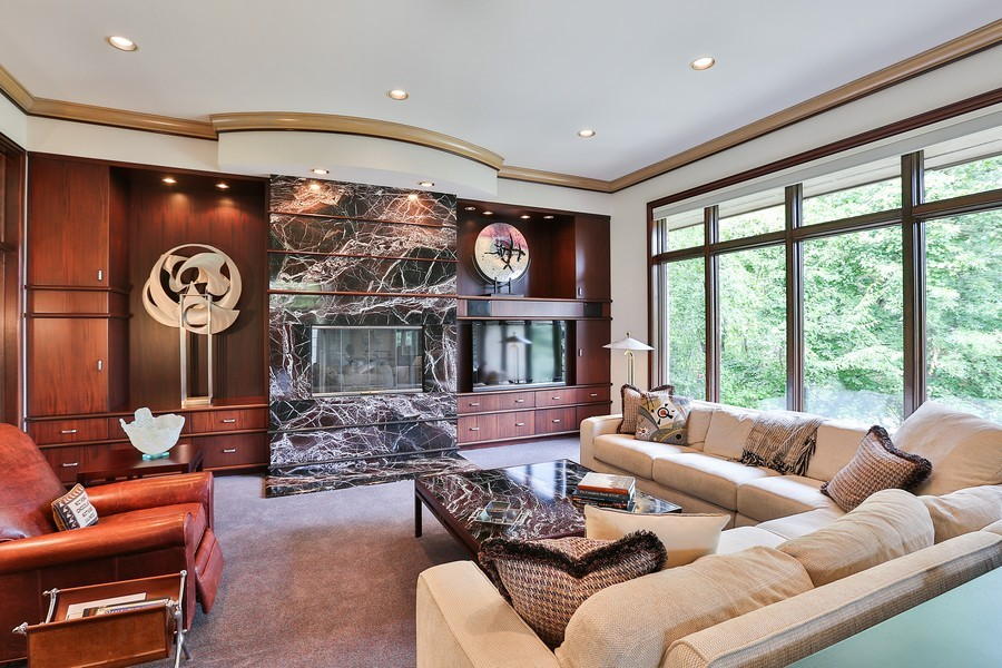 Real Estate Photography - 3560 Fairway Court, Minnetonka, MN, 55305 - Family Room