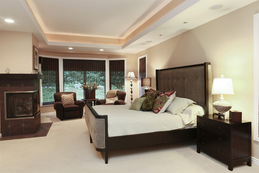 Real Estate Photography - 3560 Fairway Court, Minnetonka, MN, 55305 - Master Bedroom