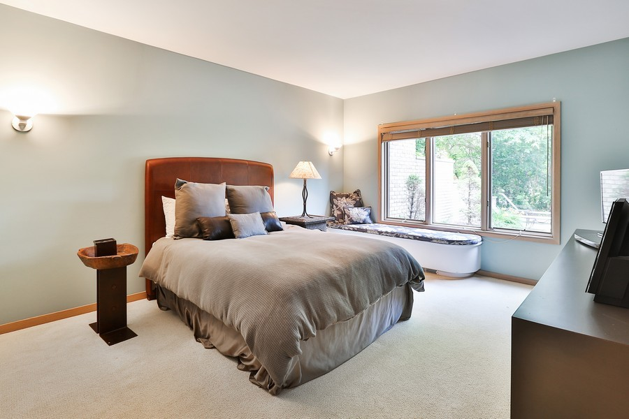 Real Estate Photography - 3560 Fairway Court, Minnetonka, MN, 55305 - Guest Bedroom