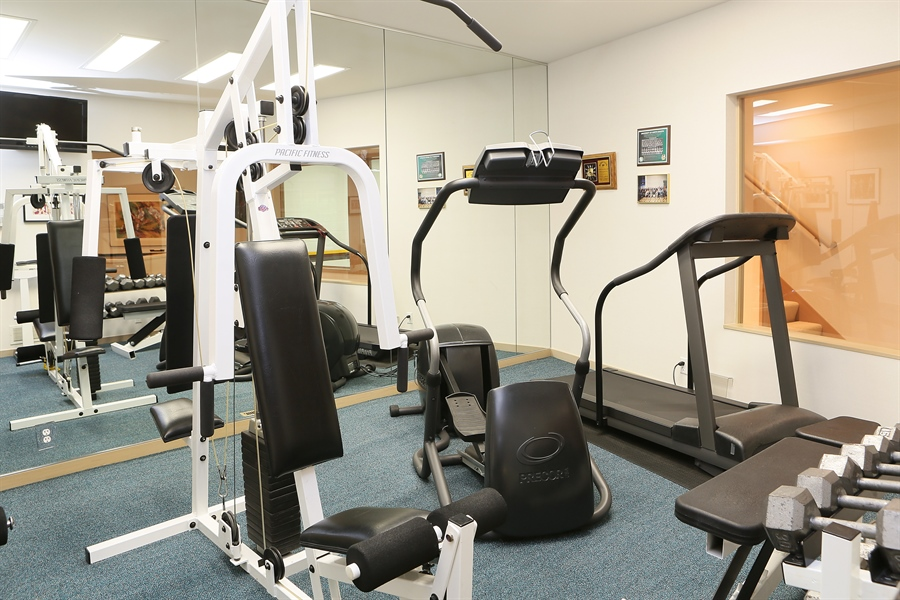 Real Estate Photography - 3560 Fairway Court, Minnetonka, MN, 55305 - Exercise Room