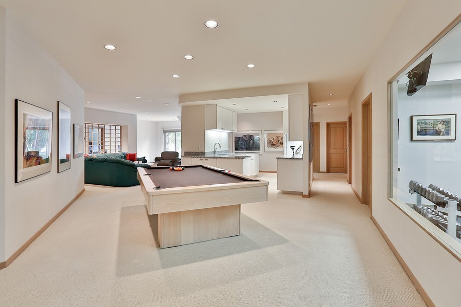Real Estate Photography - 3560 Fairway Court, Minnetonka, MN, 55305 - Game Room