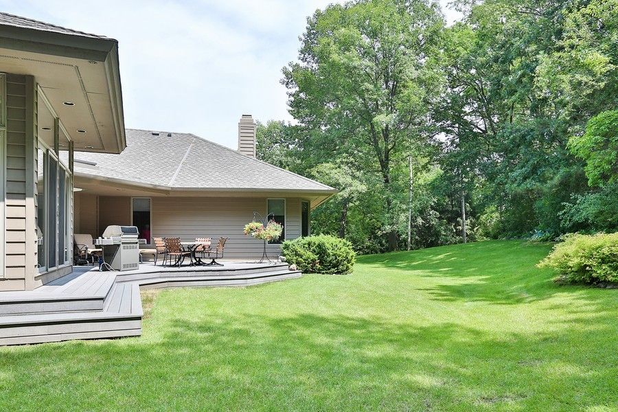 Real Estate Photography - 3560 Fairway Court, Minnetonka, MN, 55305 - Back Yard