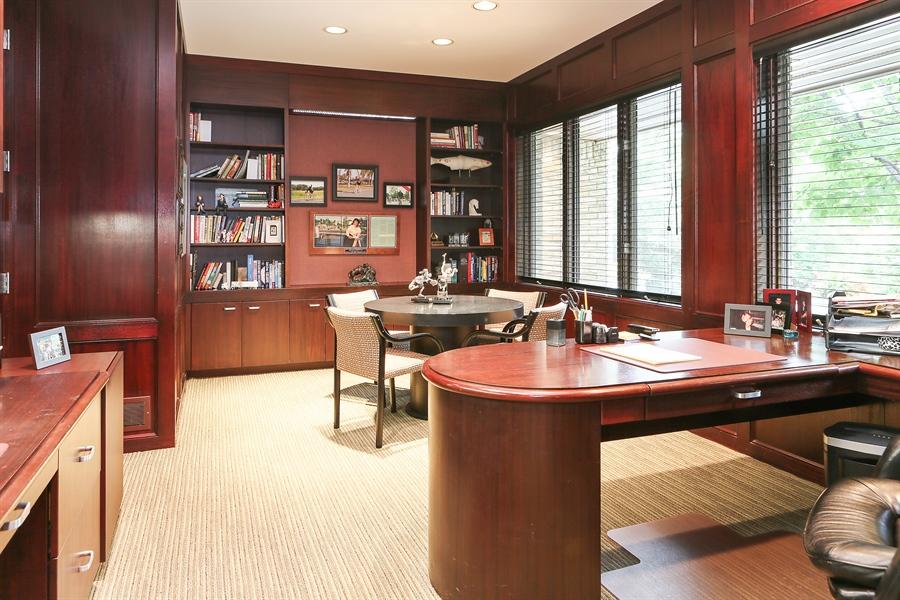 Real Estate Photography - 3560 Fairway Court, Minnetonka, MN, 55305 - Office