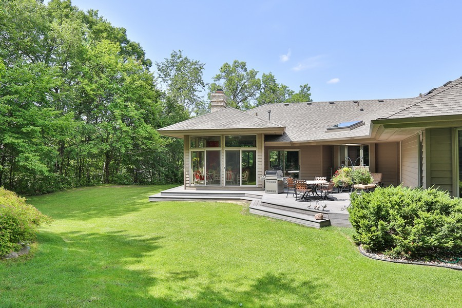 Real Estate Photography - 3560 Fairway Court, Minnetonka, MN, 55305 - Rear View