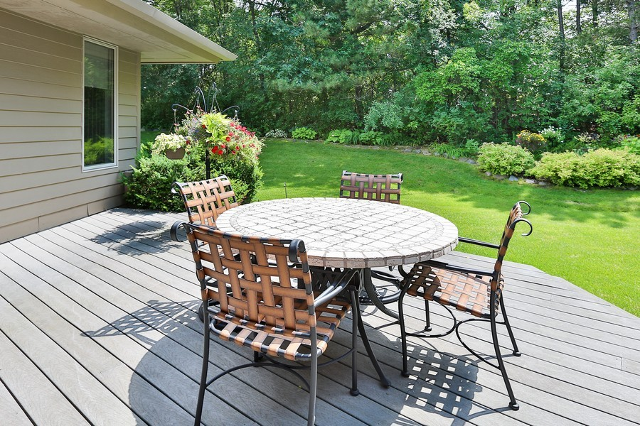 Real Estate Photography - 3560 Fairway Court, Minnetonka, MN, 55305 - Deck