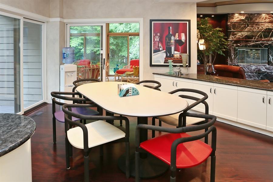 Real Estate Photography - 3560 Fairway Court, Minnetonka, MN, 55305 - Breakfast Area