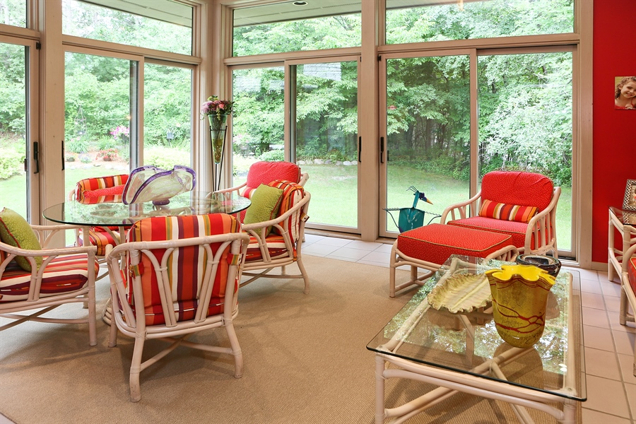 Real Estate Photography - 3560 Fairway Court, Minnetonka, MN, 55305 - Sun Room