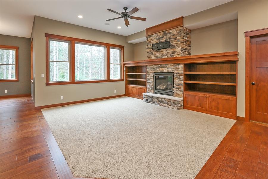 Real Estate Photography - 671 Pine Timber Lane, Hudson, WI, 54016 - Living Room