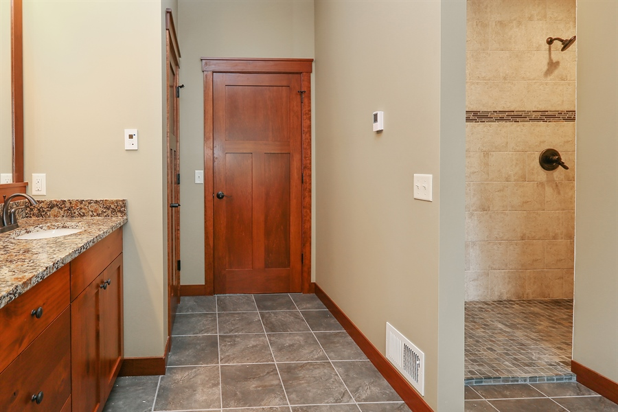 Real Estate Photography - 671 Pine Timber Lane, Hudson, WI, 54016 - Master Bathroom