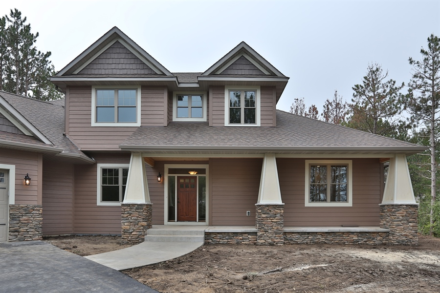 Real Estate Photography - 671 Pine Timber Lane, Hudson, WI, 54016 - Front View