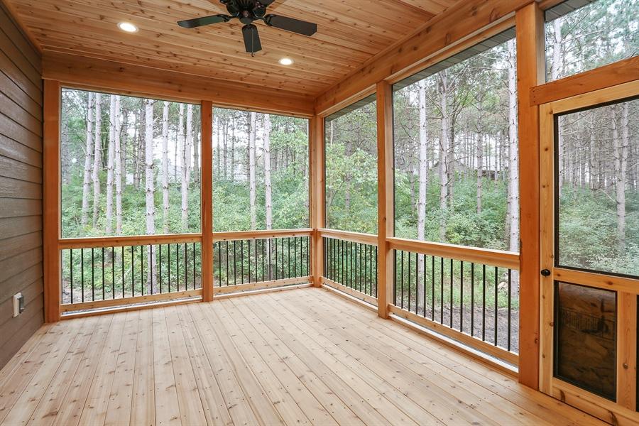 Real Estate Photography - 671 Pine Timber Lane, Hudson, WI, 54016 - Porch