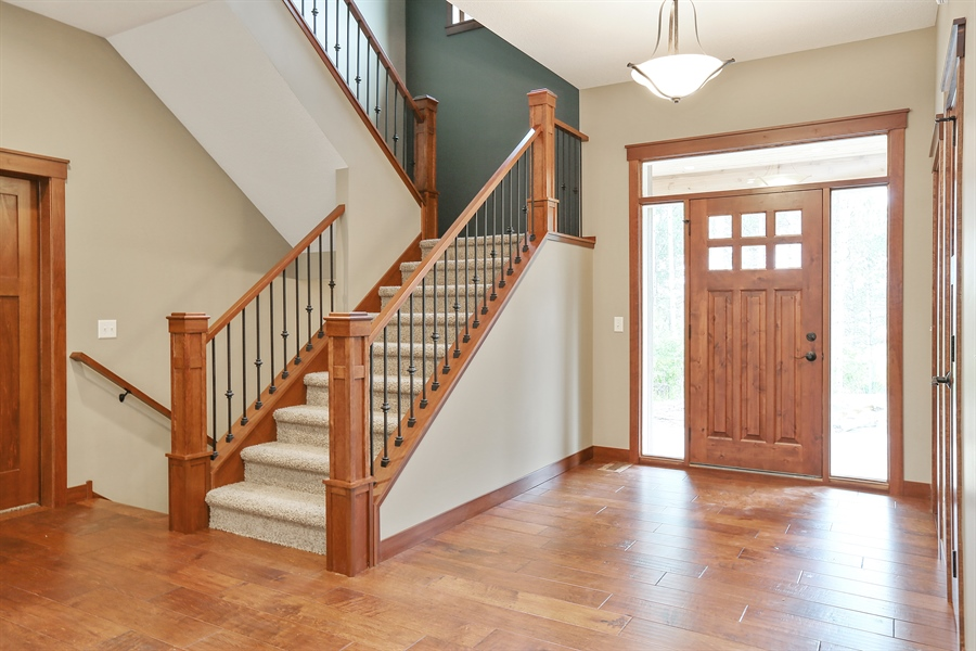 Real Estate Photography - 671 Pine Timber Lane, Hudson, WI, 54016 - Entryway
