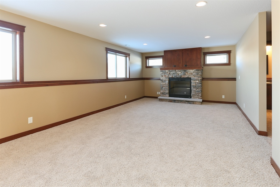 Real Estate Photography - 870 Yost Drive, Hudson, WI, 54016 - Living Rm/Family Rm