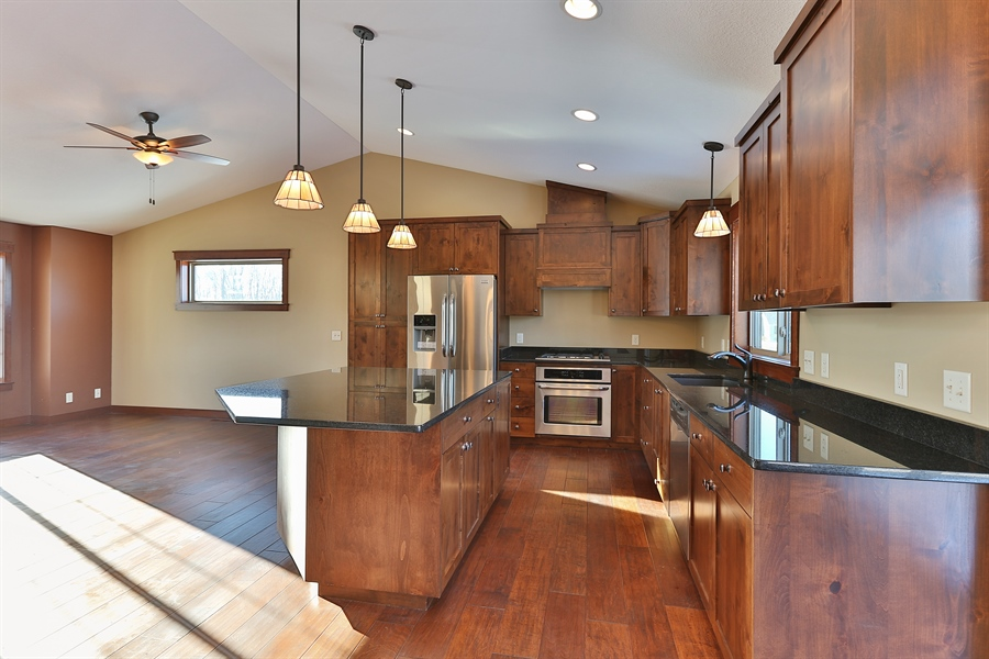 Real Estate Photography - 870 Yost Drive, Hudson, WI, 54016 - Kitchen