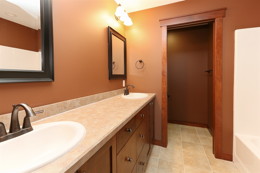 Real Estate Photography - 870 Yost Drive, Hudson, WI, 54016 - Bathroom