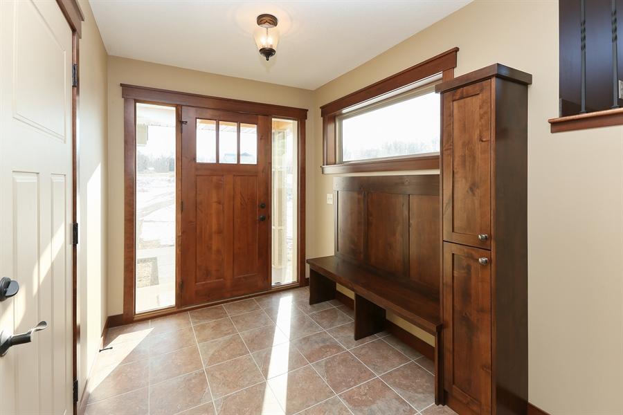 Real Estate Photography - 870 Yost Drive, Hudson, WI, 54016 - Entryway
