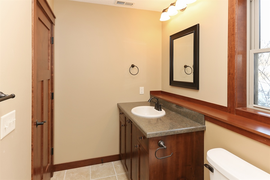 Real Estate Photography - 870 Yost Drive, Hudson, WI, 54016 - 2nd Bathroom