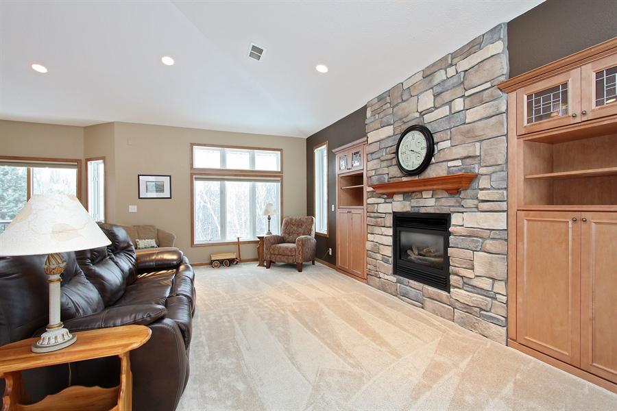 Real Estate Photography - 681 Cottage Lane, Hudson, WI, 54016 - Living Room