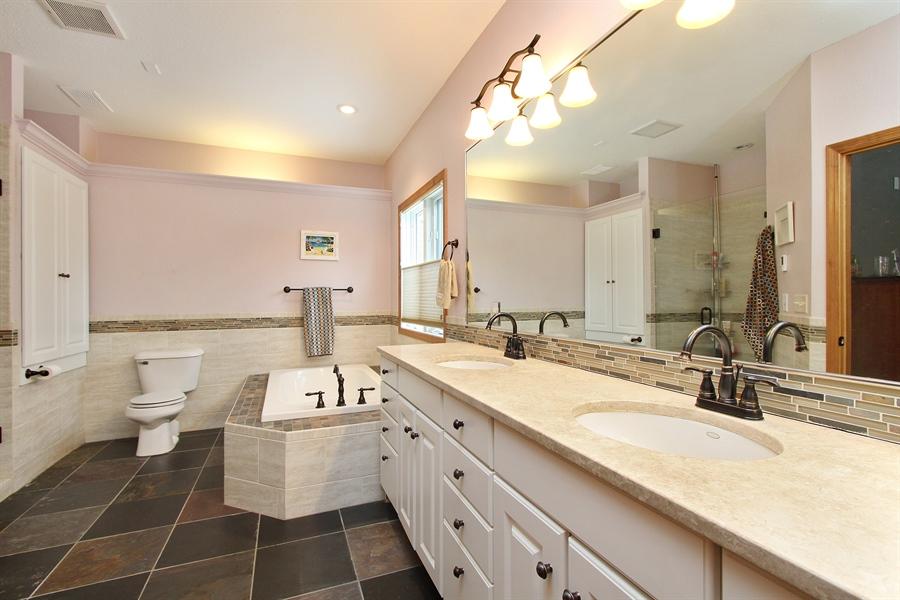 Real Estate Photography - 681 Cottage Lane, Hudson, WI, 54016 - Master Bathroom