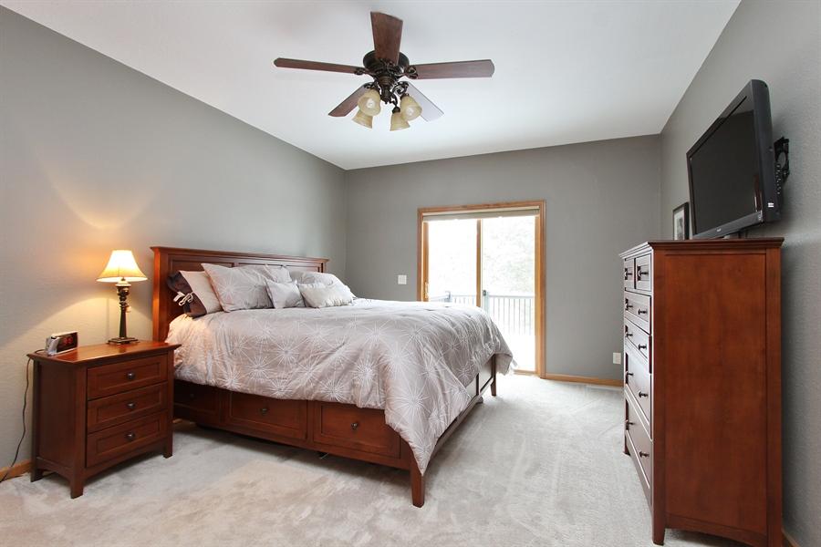 Real Estate Photography - 681 Cottage Lane, Hudson, WI, 54016 - Master Bedroom