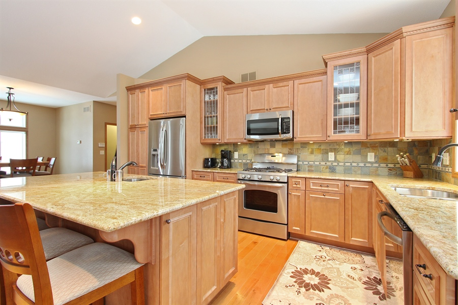 Real Estate Photography - 681 Cottage Lane, Hudson, WI, 54016 - Kitchen