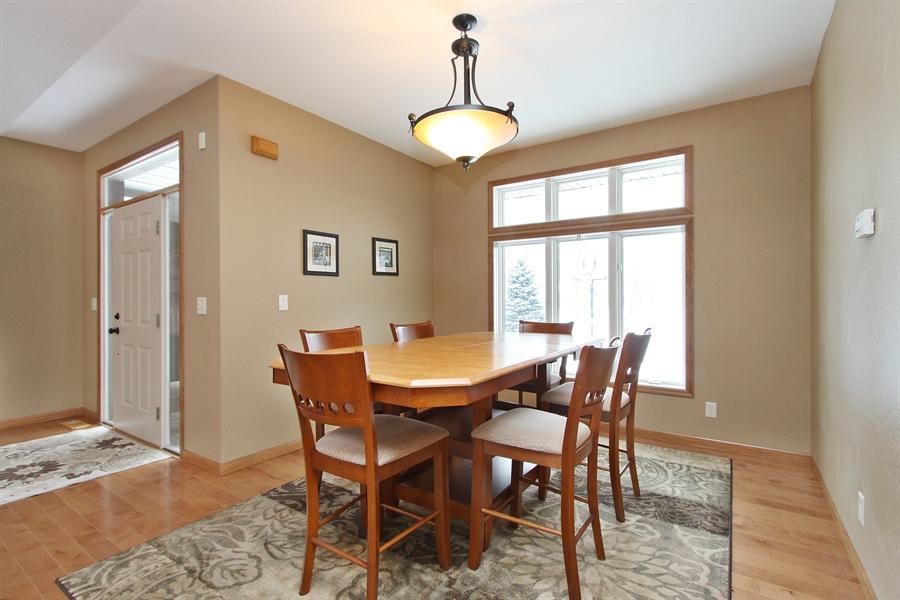 Real Estate Photography - 681 Cottage Lane, Hudson, WI, 54016 - Dining Room