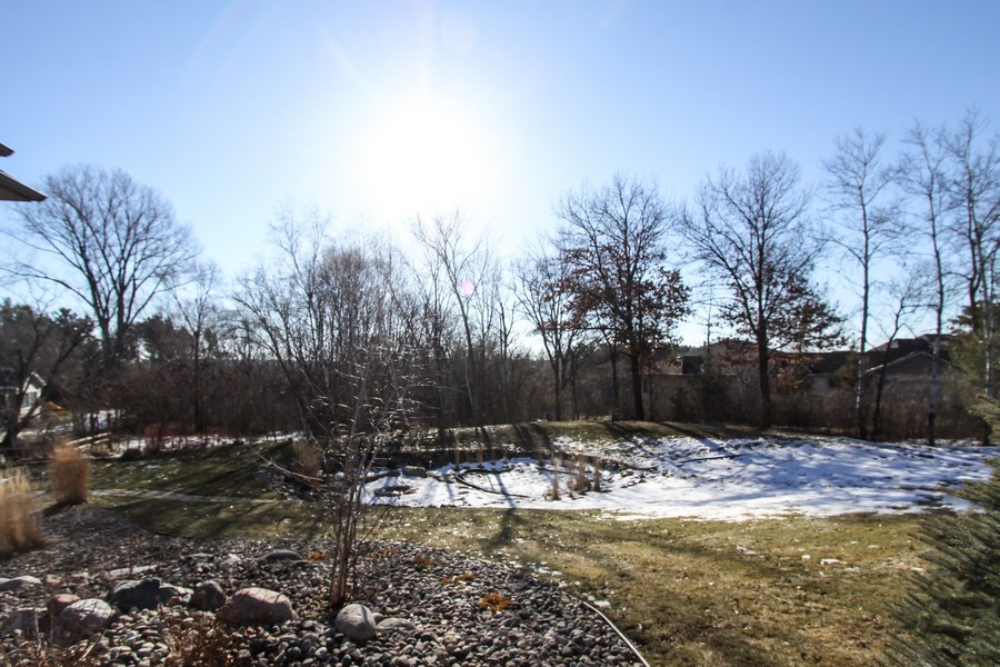 Real Estate Photography - 681 Cottage Lane, Hudson, WI, 54016 - Back Yard
