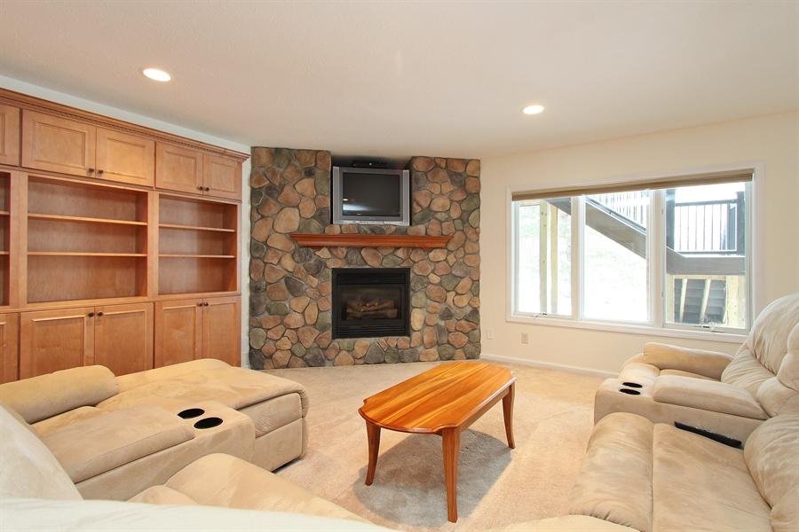 Real Estate Photography - 681 Cottage Lane, Hudson, WI, 54016 - Family Room