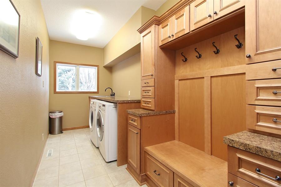 Real Estate Photography - 681 Cottage Lane, Hudson, WI, 54016 - Laundry Room