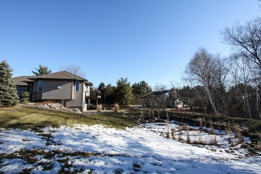 Real Estate Photography - 681 Cottage Lane, Hudson, WI, 54016 - Side View