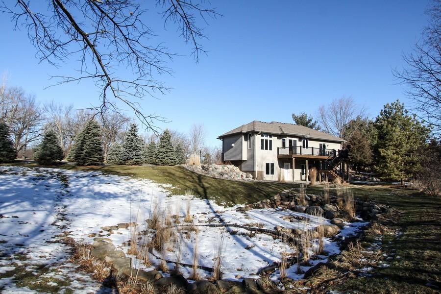 Real Estate Photography - 681 Cottage Lane, Hudson, WI, 54016 - Rear View