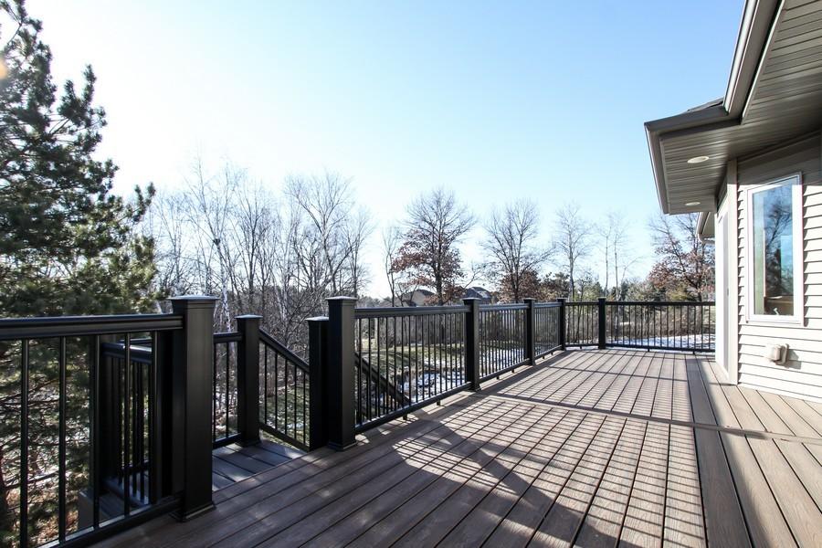 Real Estate Photography - 681 Cottage Lane, Hudson, WI, 54016 - Deck