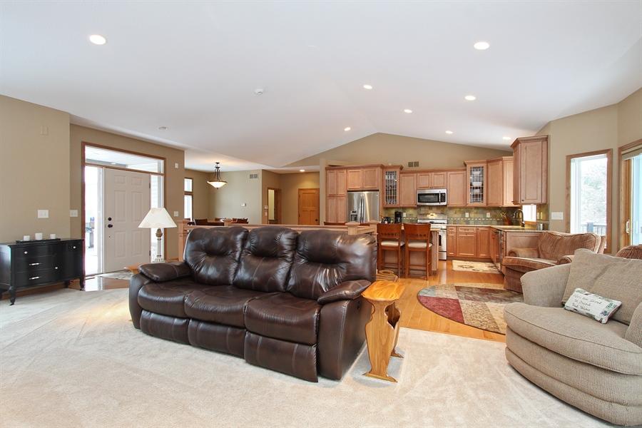 Real Estate Photography - 681 Cottage Lane, Hudson, WI, 54016 - Kitchen / Living Room